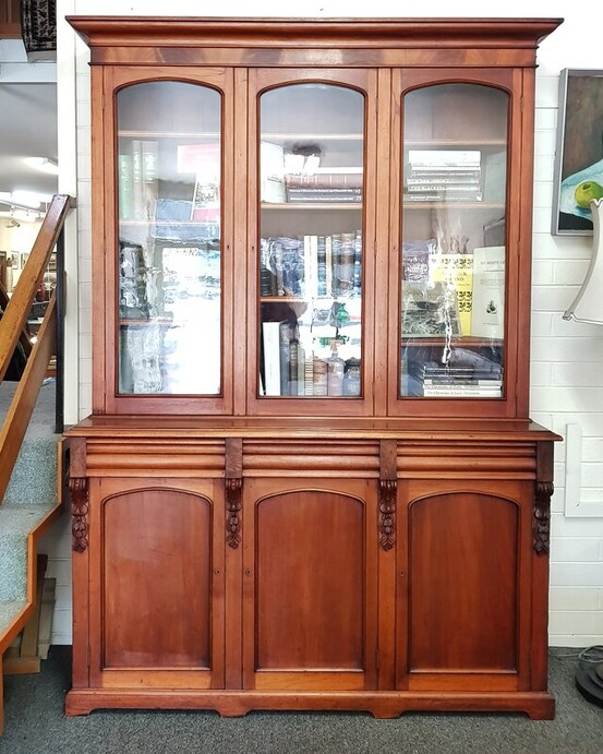 Cedar 3 Door Bookcase c.1875 - $6600