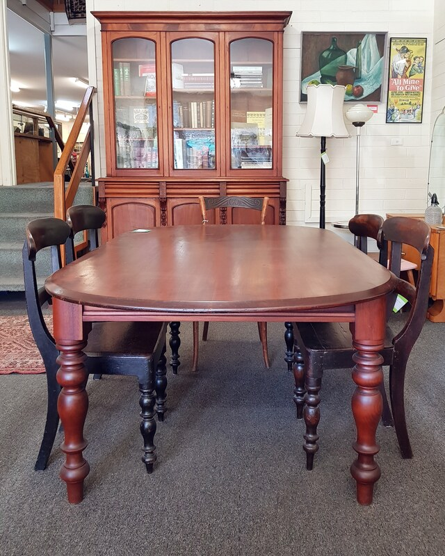 Cedar Dining Table, seats 6 - 8 - $1150